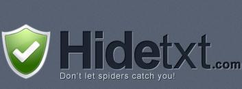 Nascondere il testo con una Immagine